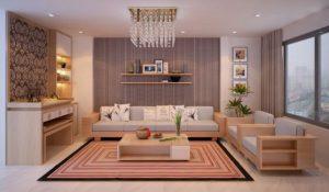 bàn ghế gỗ phòng khách giá bình dân