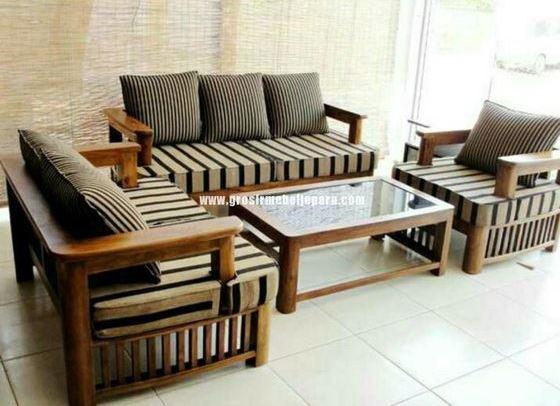 Bộ sofa gỗ giá rẻ chất lượng