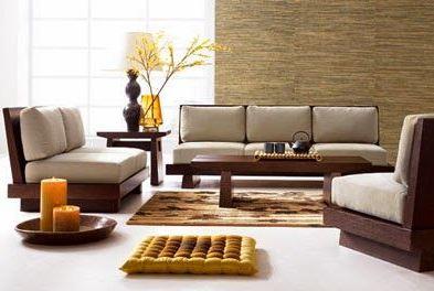 Bài trí không gian cho bộ bàn ghế gỗ một cách hợp lý
