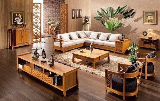 Bộ bàn ghế nên phù hợp với không gian nội thất căn phòng