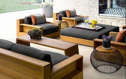 Mẫu bàn ghế sofa hiện đại sang trọng