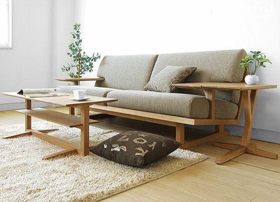 ghế sofa gỗ công nghiệp