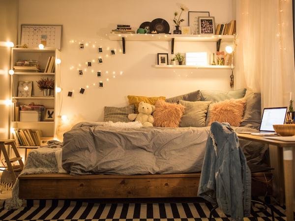 thiết kế phòng ngủ nhỏ 6m2