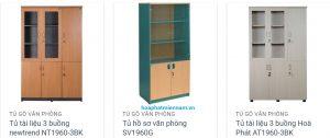 tủ gỗ Hòa Phát ghép mảnh