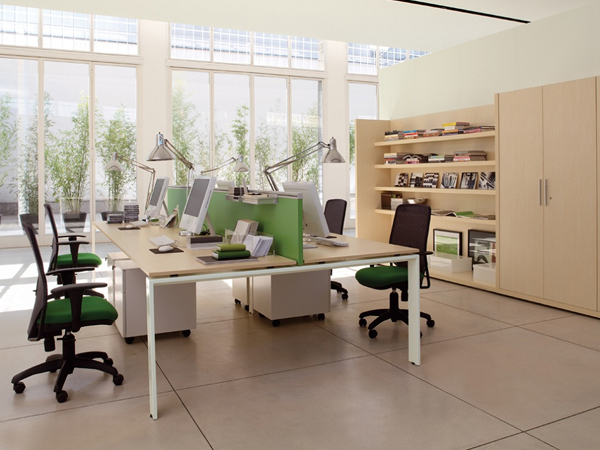 Nội thất văn phòng đẹp hiện đại