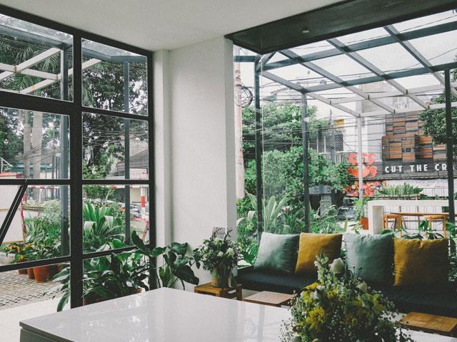 mẫu quán cà phê sân vườn nhỏ đẹp