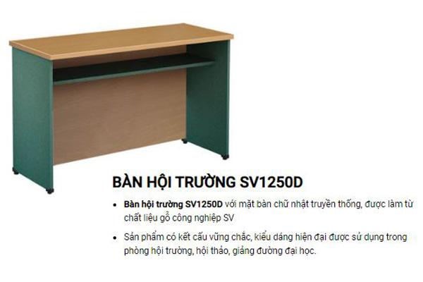 Bàn hội trường giá rẻ Hòa Phát SV1250D