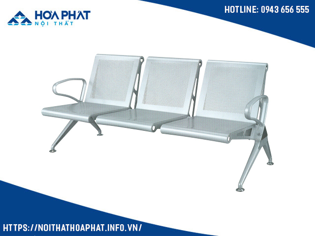 ghế băng chờ 3 chỗ HCM GPC03-3