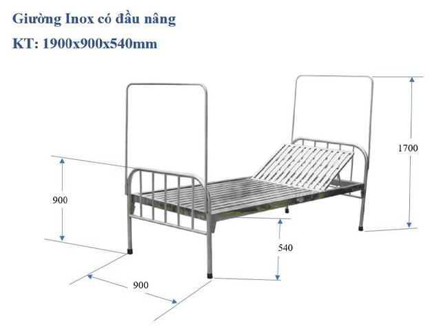 giường sắt bệnh viện