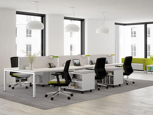 sắp xếp nội thất văn phòng nhỏ